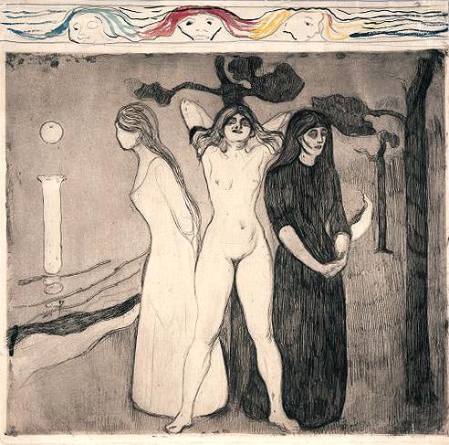 Edvard-munch-woman-ii
