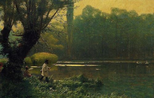 800px-gerome_-_summer_afternoon_on_a_lake