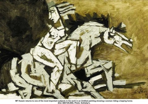 Mf-husain-leaping-horse